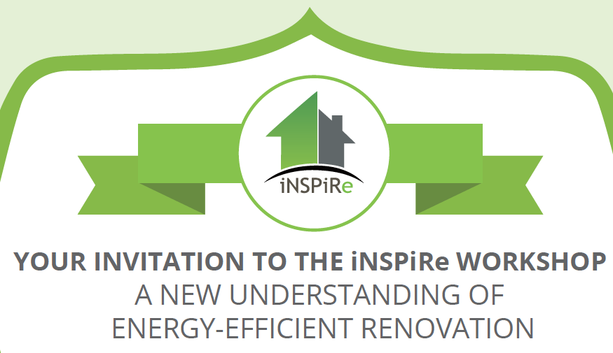 iNSPiRe final conference – A new understanding of energy-efficient renovation